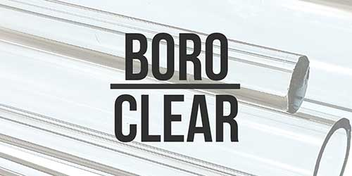 Boro Glass Clear Tube and Rod