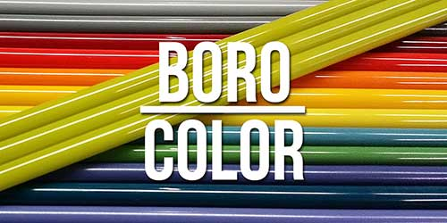 Boro Glass Color Rod