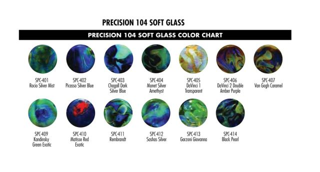 Glass Alchemy Color Chart