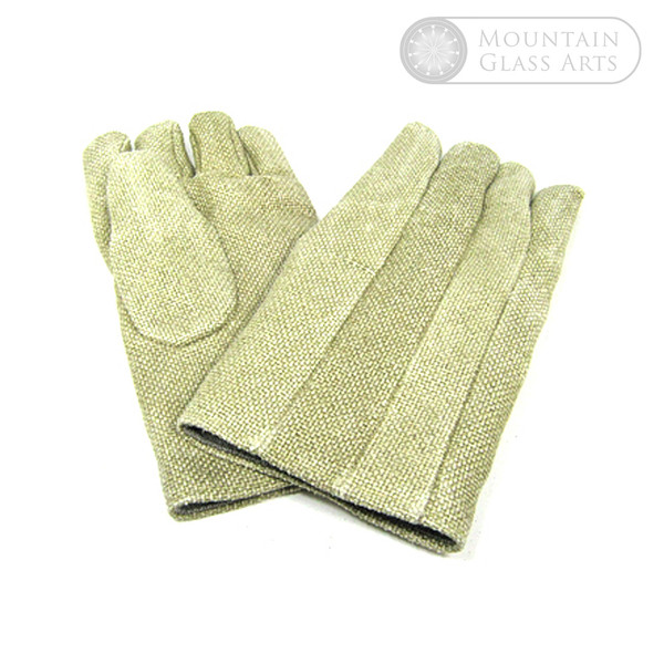 Lampworking Safety | Kevlar Gloves & Sleeves | Mountain Glass Arts