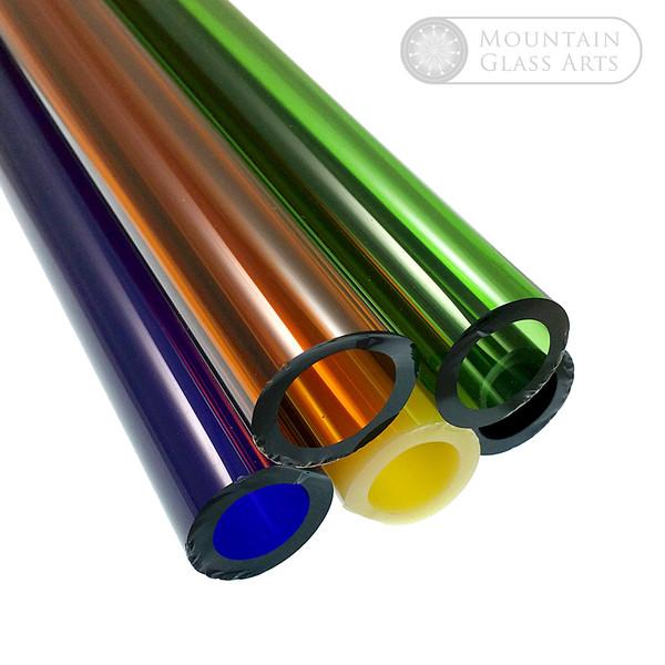 Borosilicate Color Sample Packs | 33 COE Lampwork | Mountain Glass Art