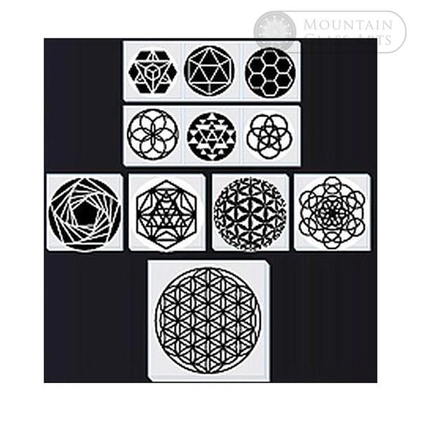 Sacred Geometry Dichroic Theme Pack 3