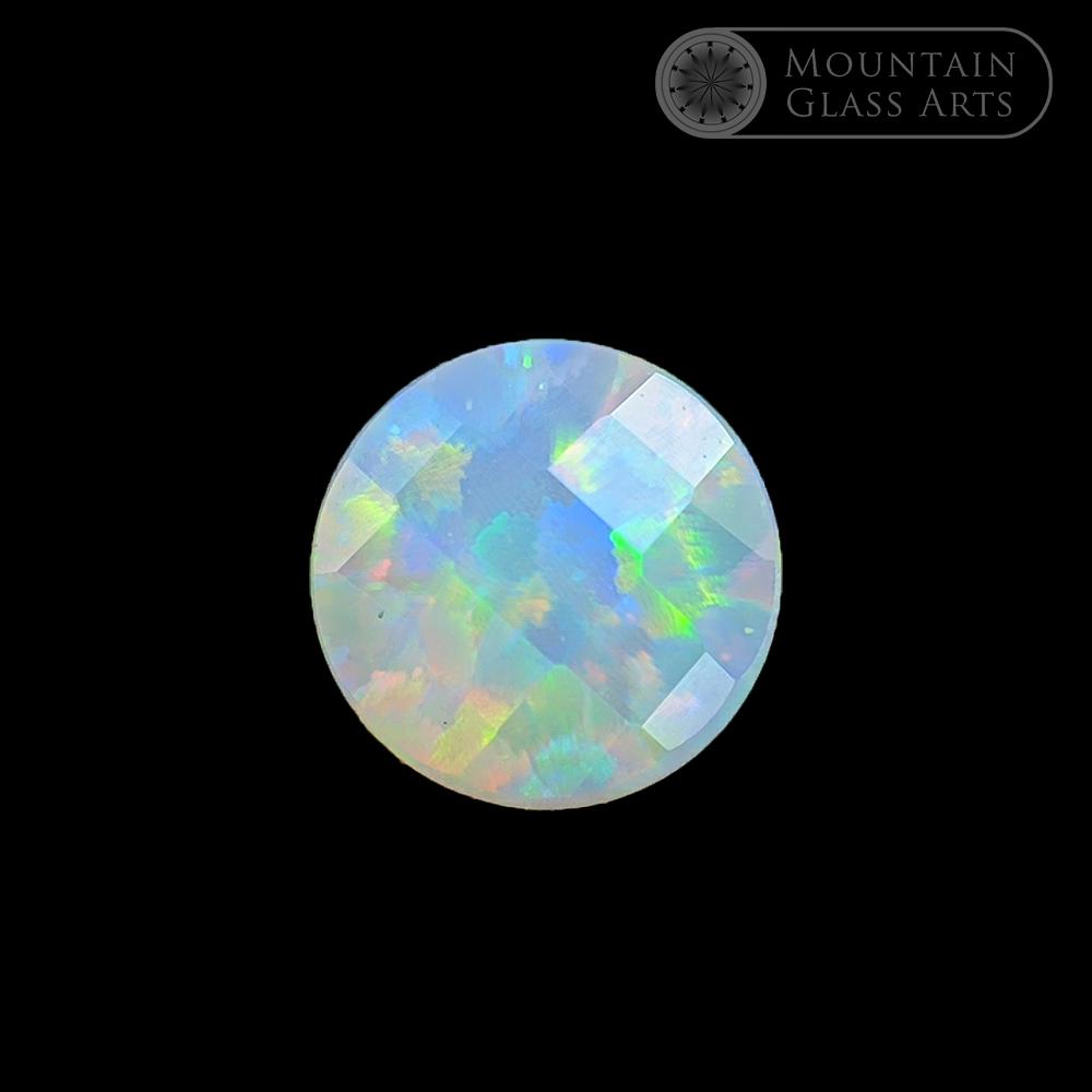 Opal 33 COE Compatible 1 Piece Gilson Oval Shaped Black – 10mm x 8mm